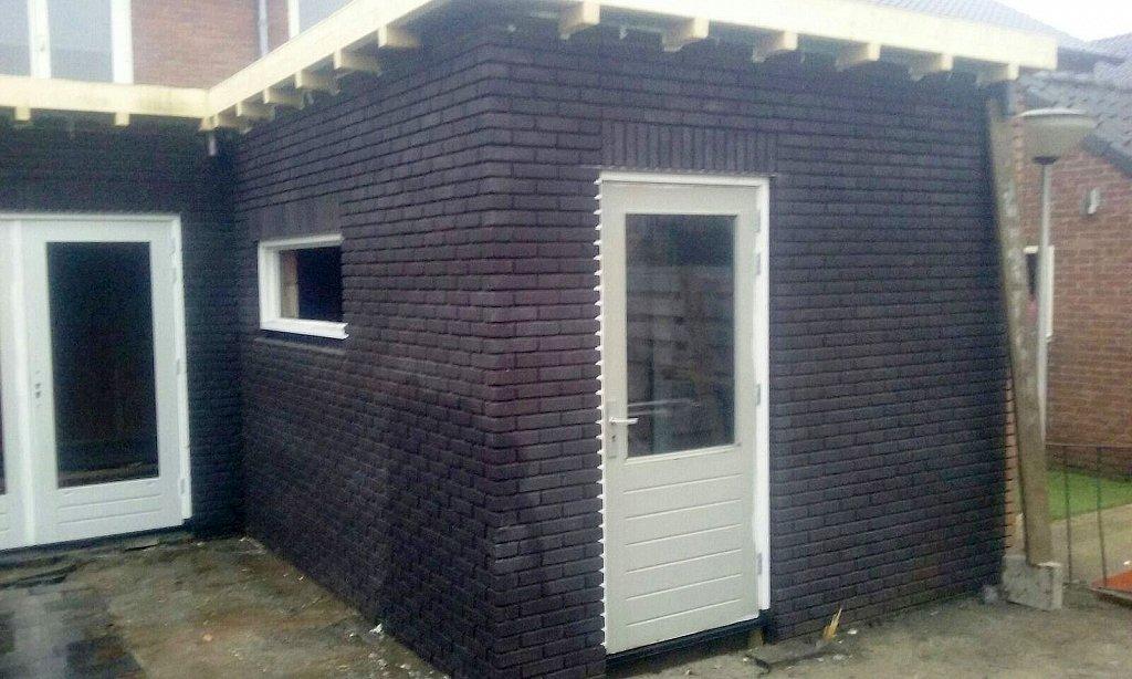 uitbreiding woonkamer-keuken